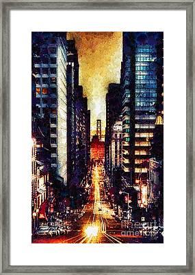 San Francisco Framed Print by Mo T