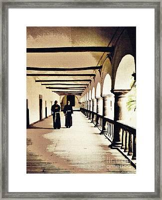 San Francisco Monastery Quito  Framed Print