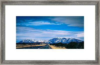 San Francisco Mountain Framed Print by Kathleen Scanlan