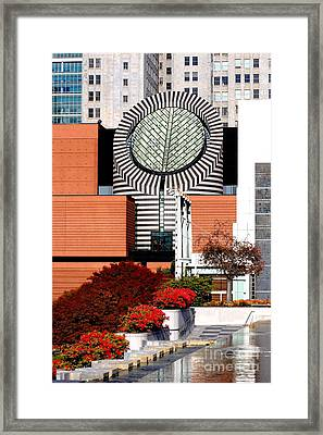 San Francisco Museum Of Modern Art Sfmoma 1 Framed Print by Wingsdomain Art and Photography