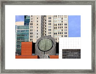 San Francisco Museum Of Modern Art Sfmoma 2 Framed Print