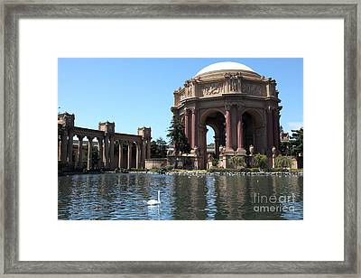San Francisco Palace Of Fine Arts - 5d18085 Framed Print