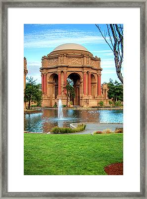 San Francisco Palace Of Fine Arts Framed Print by Gregory Ballos