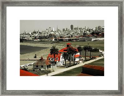 San Francisco Panorama 2015 Framed Print