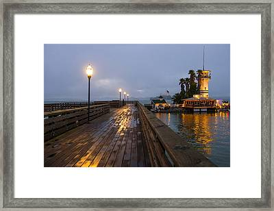 San Francisco Pier 39 Framed Print by Kobby Dagan