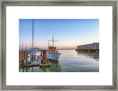 San Francisco - Pier 39 Framed Print