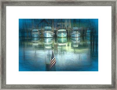 San Francisco Pier Framed Print by Michael Cleere