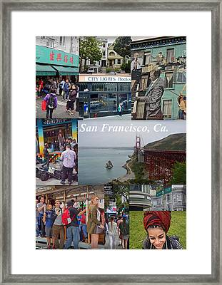 Framed Print featuring the photograph San Francisco Poster by Joan Reese