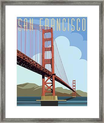 San Francisco Poster  Framed Print