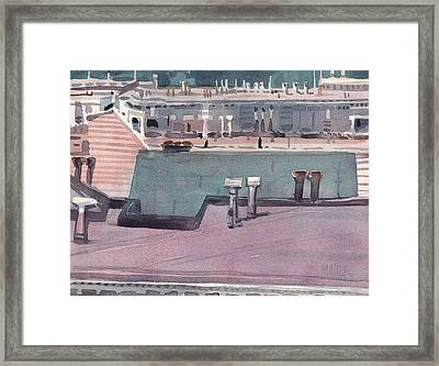 San Francisco Rooftops Framed Print by Donald Maier