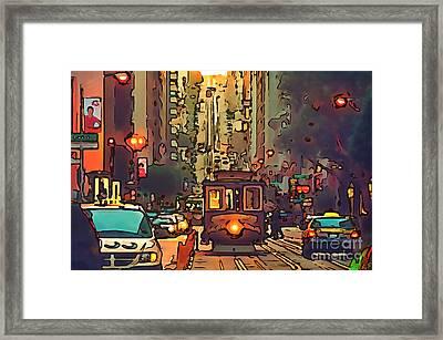 San Francisco Framed Print by Sergey Lukashin