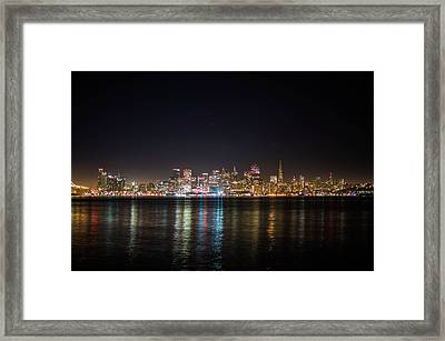 San Francisco Shot Framed Print