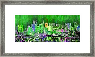San Francisco Skyline 104 - Da Framed Print