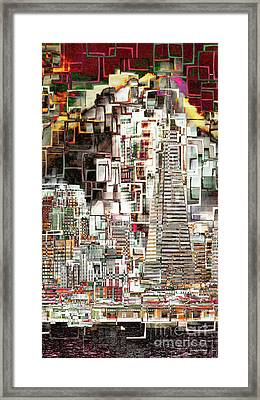 San Francisco Skyline Eos 5d29399 V2 Long Framed Print
