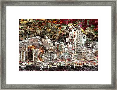San Francisco Skyline Eos 5d29399 V2 Framed Print
