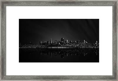 San Francisco Space IIi Framed Print by Juan Pablo De