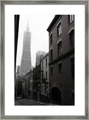 San Francisco Street Framed Print