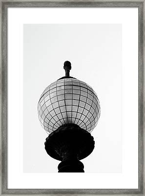 San Francisco Street Light- By Linda Woods Framed Print