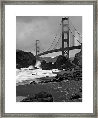 San Francisco Summer Framed Print
