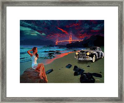 San Francisco Sunrise Framed Print