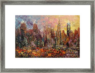 San Francisco Framed Print by Tatiana Iliina