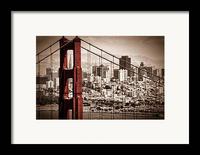 Bridges Framed Prints