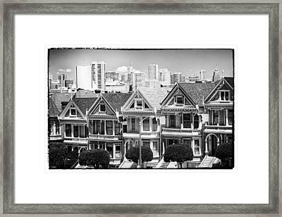 San Francisco View Lll - Black And White Framed Print by Hideaki Sakurai