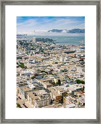 San Francisco Vista Framed Print
