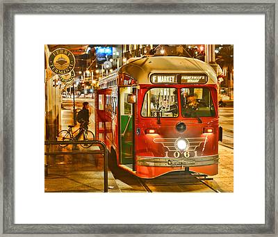 San Francisco's Ferry Terminal Framed Print