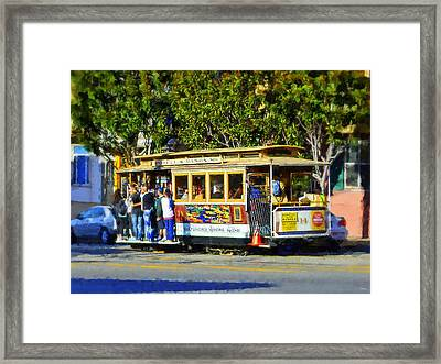 San Fransisco Cable Car Framed Print