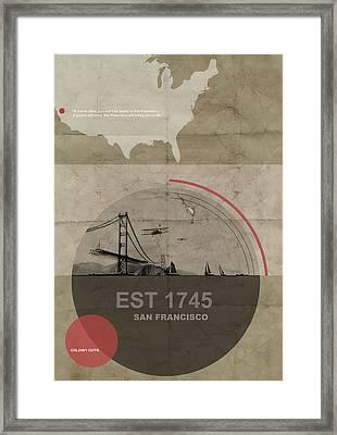 San Fransisco Framed Print