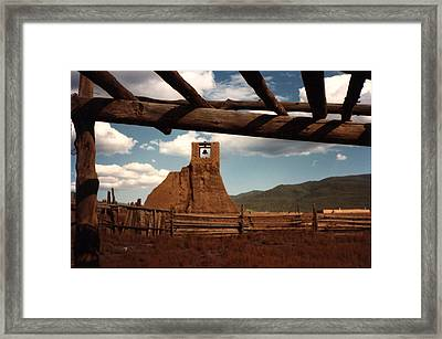 San Geronimo Church Ruins Framed Print