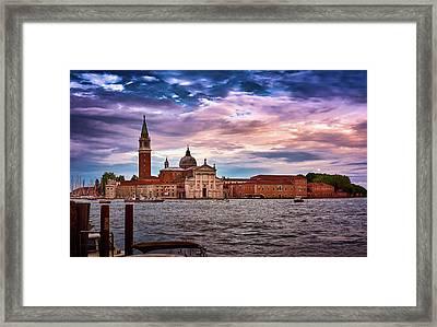 San Giorgio Di Maggiore Church Framed Print