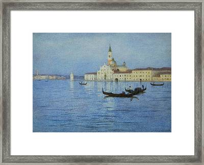 San Giorgio Maggiore Framed Print by Helen Allingham