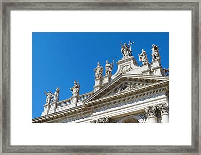 San Giovanni In Laterano Framed Print by Andrea Gargantini