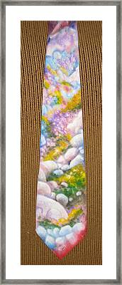 San Jacinto Spring Framed Print by David Kelly
