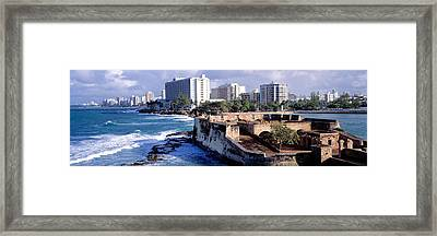 San Jeronimo Fort, San Juan, Puerto Rico Framed Print by Panoramic Images