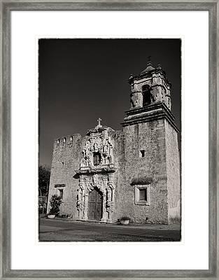 San Jose - Bw Border Framed Print by Stephen Stookey