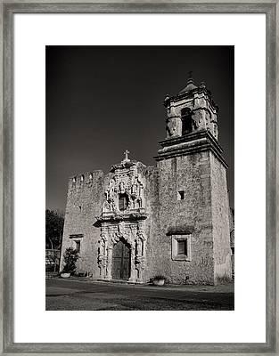 San Jose - Bw Framed Print by Stephen Stookey