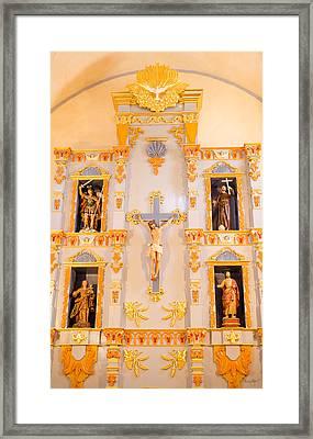 San Jose Chapel Framed Print