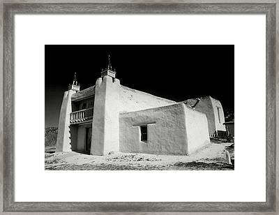 San Jose De Gracia Church Framed Print by Steven Ainsworth