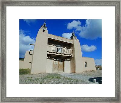 San Jose De Gracia Number 1 Framed Print by Joseph R Luciano