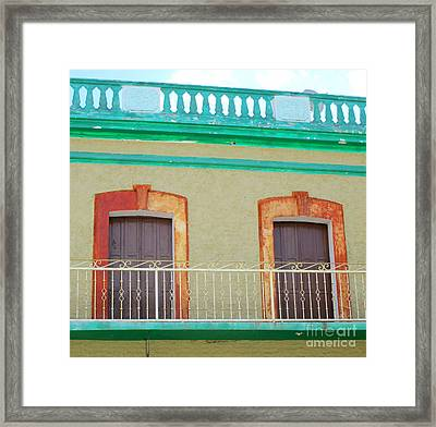 San Jose Del Cabo Doors 11 Framed Print by Randall Weidner