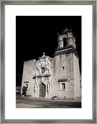 San Jose - Infrared Framed Print by Stephen Stookey