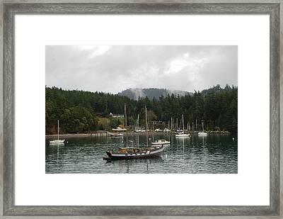 San Juan - Orcas Island  Framed Print