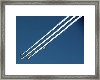 Framed Print featuring the photograph San Juan Aces by Kevin Munro