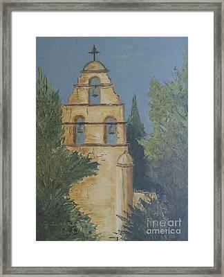 San Juan Mission Framed Print