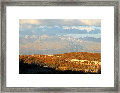San Juan Mountains Framed Print by David Lee Thompson