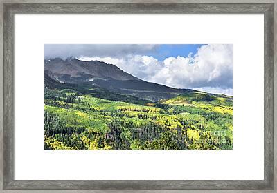 San Juan Mountains Framed Print