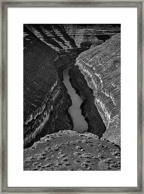 San Juan River Framed Print by Joseph Smith